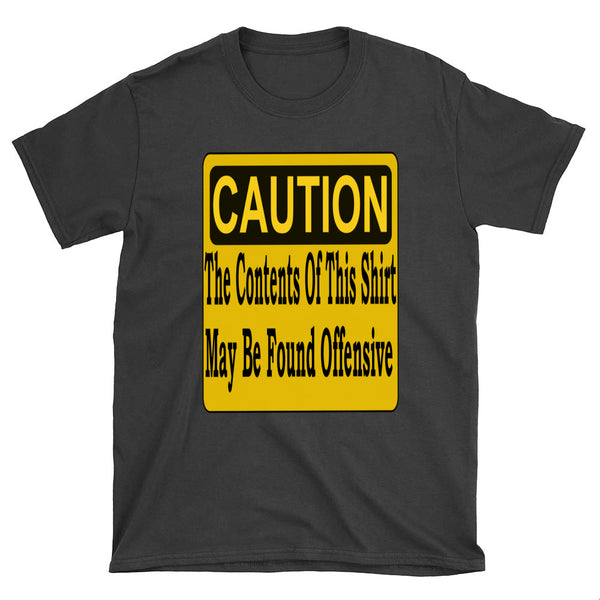 Caution Contents May Be Found Offensive