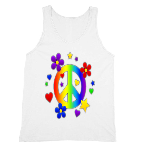 Peace and Love Tank Unisex