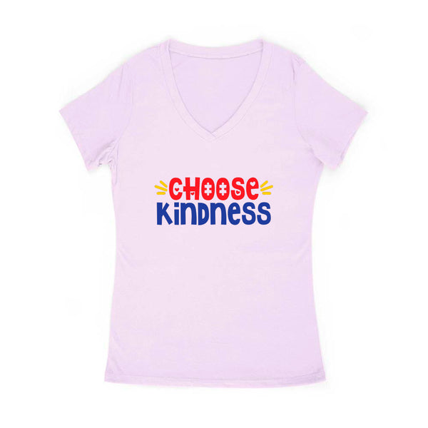 Choose Kindness Women's V Neck