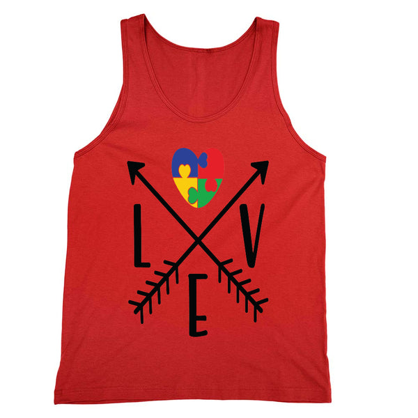 Love Autism Arrows Tank Unisex