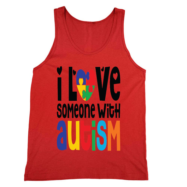 Love Someone With Autism Tank Unisex