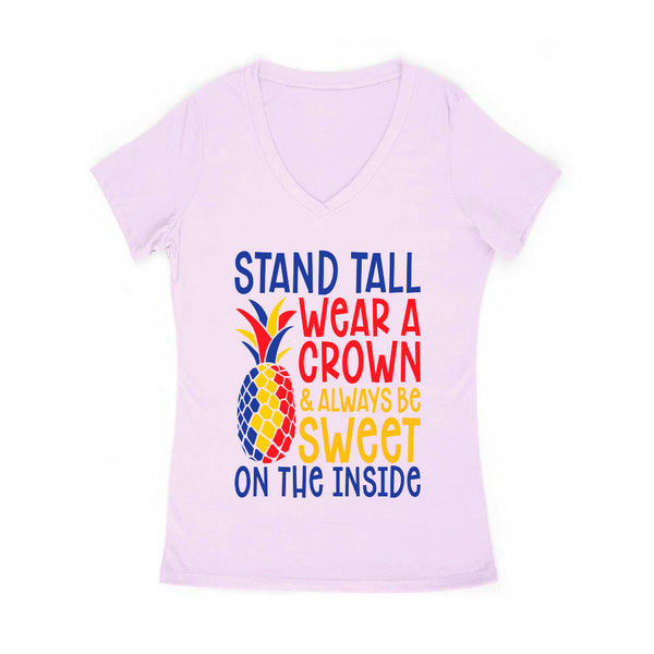 Stand Tall Women's V Neck