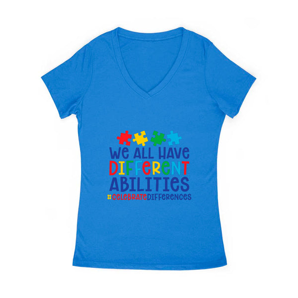 Celebrate Differences Women's V Neck