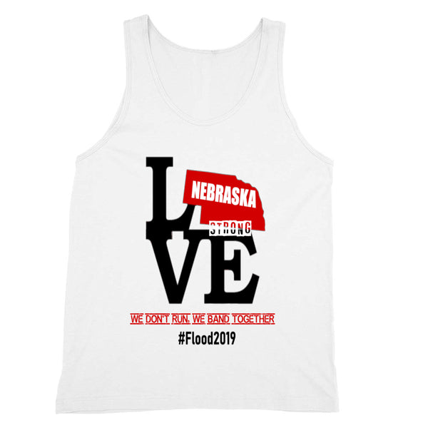 Nebraska Strong #Flood2019 Tank Unisex