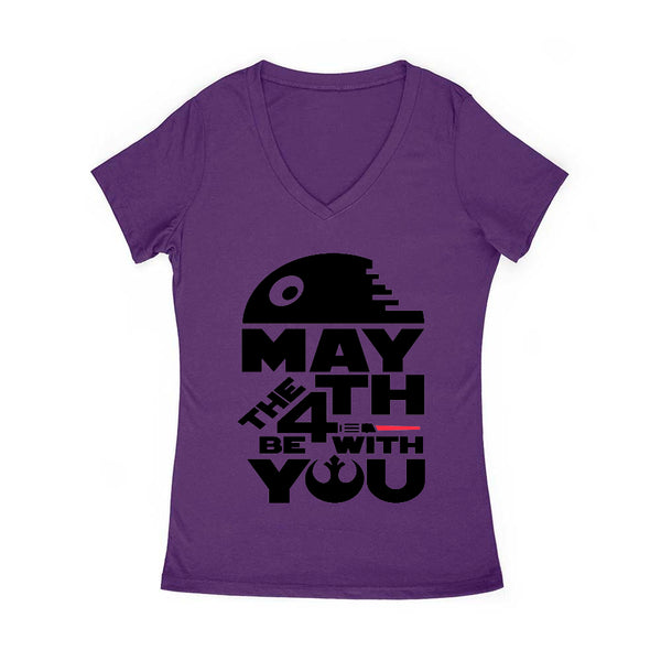 May The 4th v4 Women's V Neck