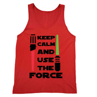 Keep Calm and Use the Force Tank Unisex