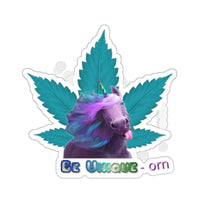 Be Unique-orn sticker