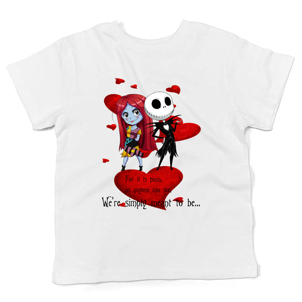 Custom Jack and Sally Tikes (kid's t shirt)