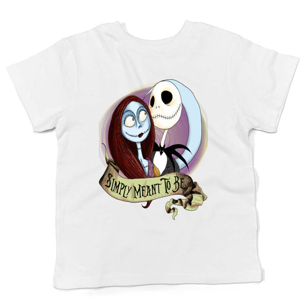 Custom Jack N Sally Smiply Meant (kid's t shirt)