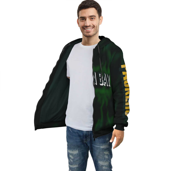 Green Bay Fan art Hoodie AOP