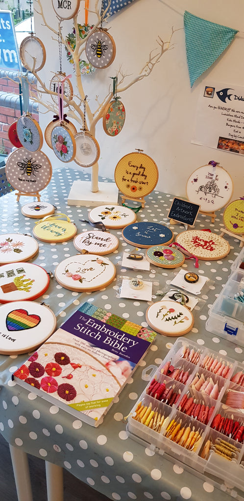 Create Your Own Embroidered Art - Crafts and Makes, Didsbury