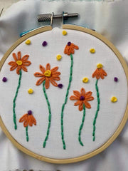 hand embroidery start up kit needle and natter