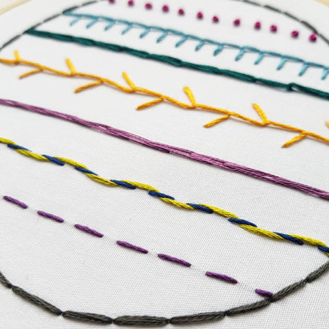 Beginners Hand Embroidery Workshop At Stitch Studio In Ramsbottom
