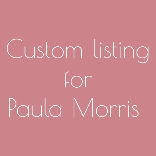 2x Commission Hoop Art - Paula Morris