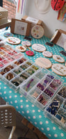 Personalised Hand Embroidery Workshop Floral Ring - Crafts & Makes - Didsbury