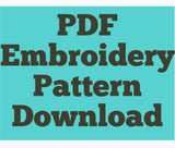 PDF FILE - Create Your Own Rainbow - Hand Embroidery PDF