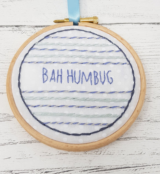Christmas Ornament - Bah Humbug