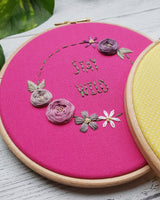 Hand Embroidery Craft Course