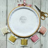 "4"" I am Enough - Inspirational Quote - Ready To Buy Hoop Art"
