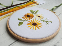 "SUNSHINE- 6"" Hand Embroidery Kit"