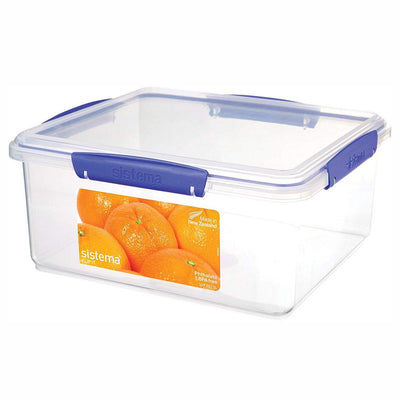 Sistema Klip It madboks - 5 liter - firkantet - transparent