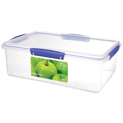 Sistema Klip It madboks - 7 liter - firkantet - transparent