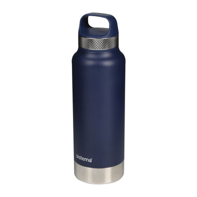 Sistema Stainless Steel drikkeflaske - 600ml - Navy