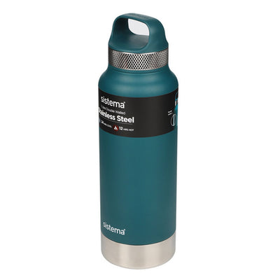 Sistema Stainless Steel drikkeflaske - 600ml - Deep Teal