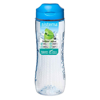 Sistema Tritan Swift Bottle drikkedunk - 600ml - Blå