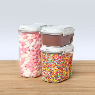 Sistema Bake It 3-pack bage sæt - transparent
