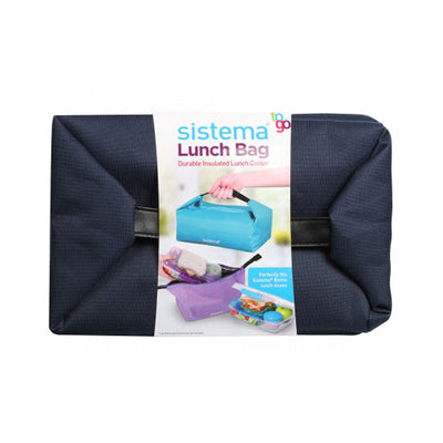 Køletaske til madpakke | Sistema Lunch Bag To Go | Navy