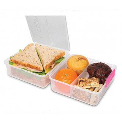 Madkasse - Sistema Lunch Cube To Go Madkasse - 1,4 Liter - Flere Farver
