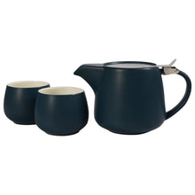 Load image into Gallery viewer, Navy Ceramic Tea Gift Set