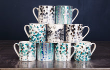 Load image into Gallery viewer, Aqua Boston Ivy Mug