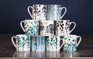 Aqua Boston Ivy Mug
