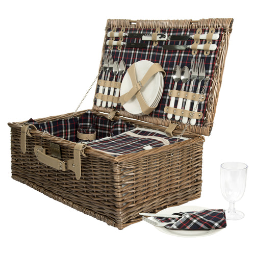 Gingham Hamper