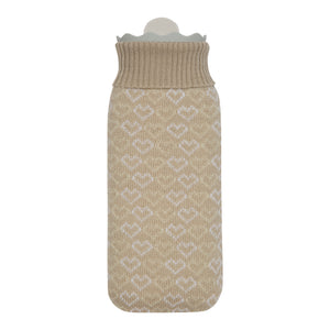Cozy Brown Hot Water Bottle