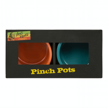 Load image into Gallery viewer, Blue and Orange Pinch Pots