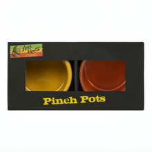 Load image into Gallery viewer, Orange and Yellow Pinch Pots
