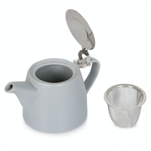 Grey Ceramic Teapot
