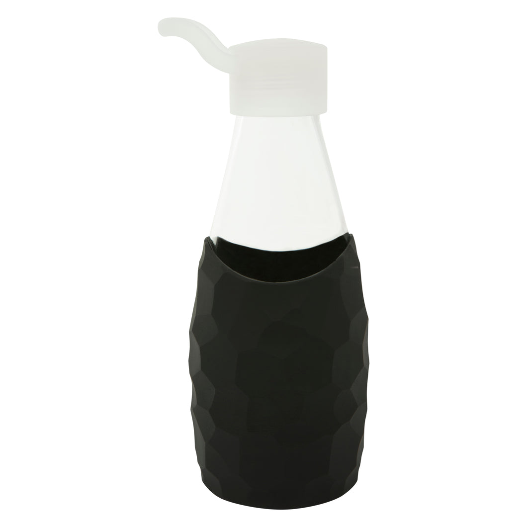 Jordan & Judy x Scandi Home Black Honeycomb Glass Bottle
