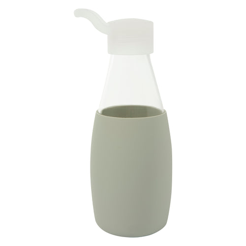 Jordan & Judy x Scandi Home Grey Glass Water Bottle