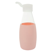 Load image into Gallery viewer, Jordan & Judy x Scandi Home Pink Glass Water Bottle