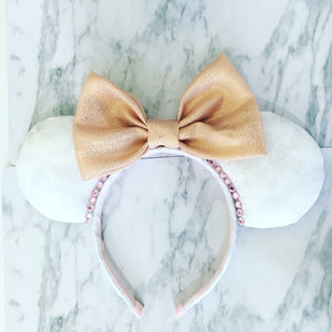 Marble and rose Gold Ears