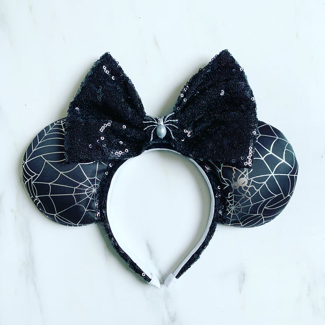 Spider web sparkle Ears