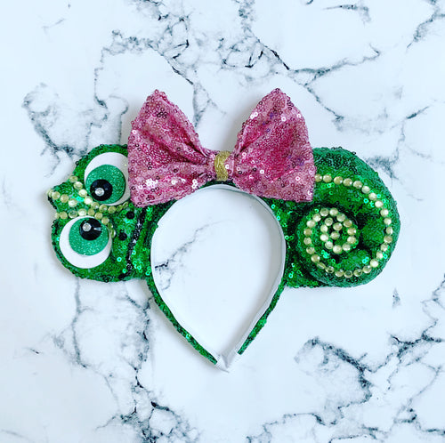 Cute 3D Chameleon Ears