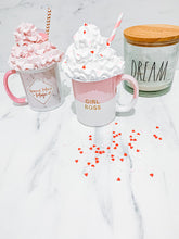Dusky Pink | Whipped Mug Topper (valentines)