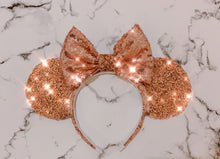 Luxury Copper Diamond Ears