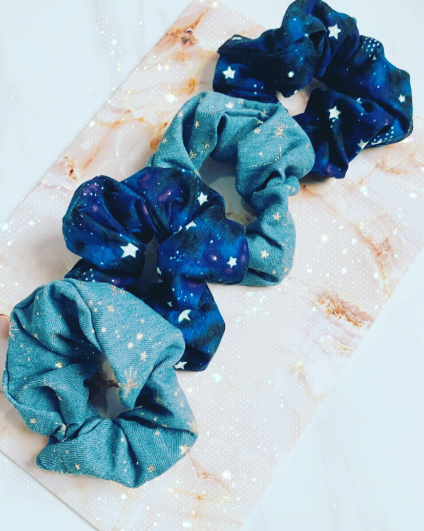 Constellation vibes scrunchie