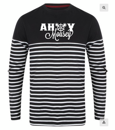 Ahoy Cruise | Striped sweater